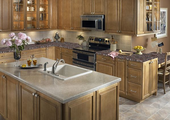 Countertops Cabinets R Us Showroom Burnaby – Design Merit Kitchen Cabinets Dealer - Cleaning Butcher Block Counter