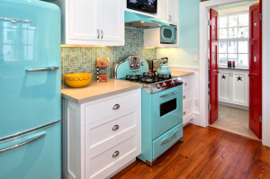 Coloured appliances Cabinets R Us Trends Burnaby Cool